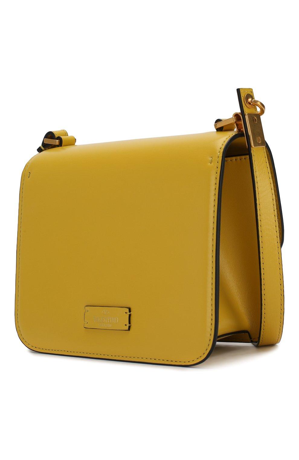 Женская сумка valentino garavani vsling small VALENTINO желтого цвета, арт. SW0B0F01/HFB | Фото 3
