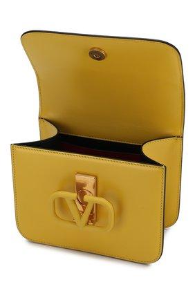 Женская сумка valentino garavani vsling small VALENTINO желтого цвета, арт. SW0B0F01/HFB | Фото 4