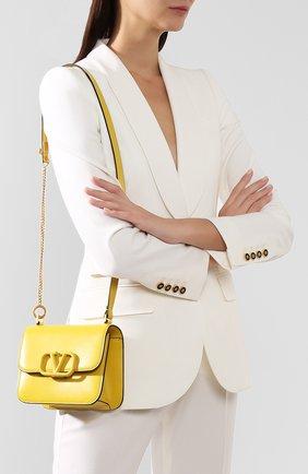 Женская сумка valentino garavani vsling small VALENTINO желтого цвета, арт. SW0B0F01/HFB | Фото 5