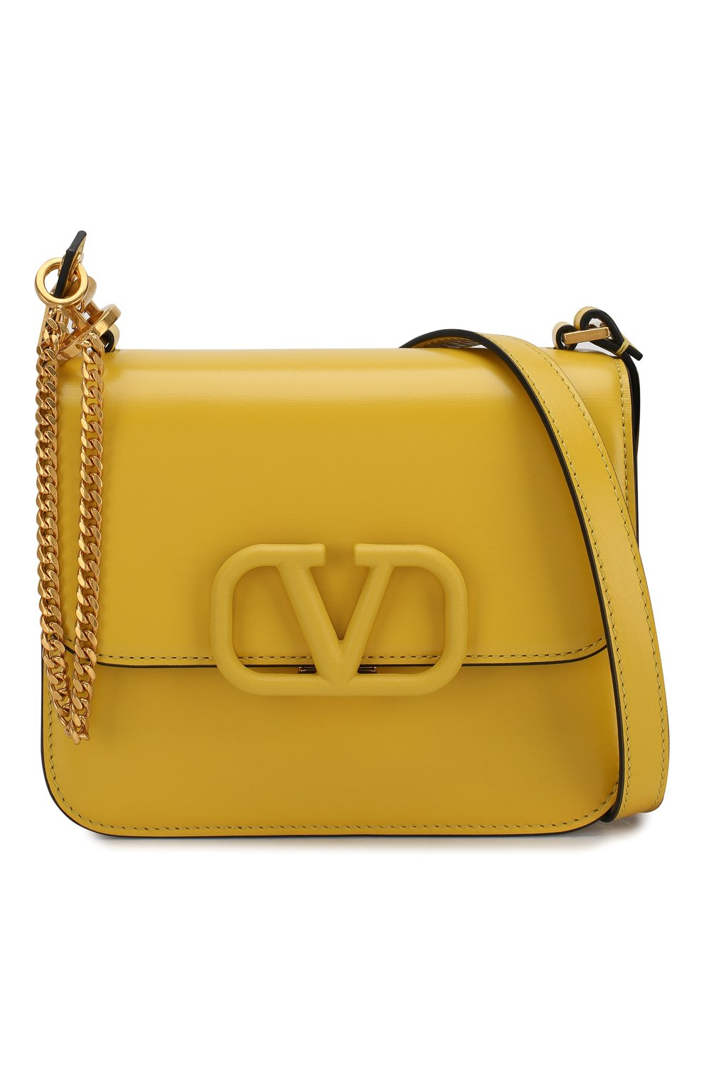 Женская сумка valentino garavani vsling small VALENTINO желтого цвета, арт. SW0B0F01/HFB | Фото 6