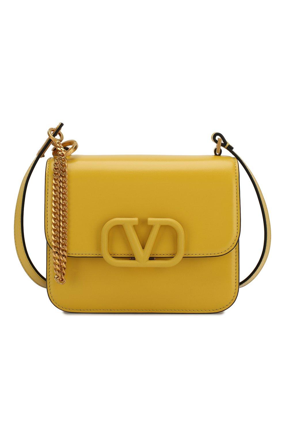 Женская сумка valentino garavani vsling small VALENTINO желтого цвета, арт. SW0B0F01/HFB | Фото 7