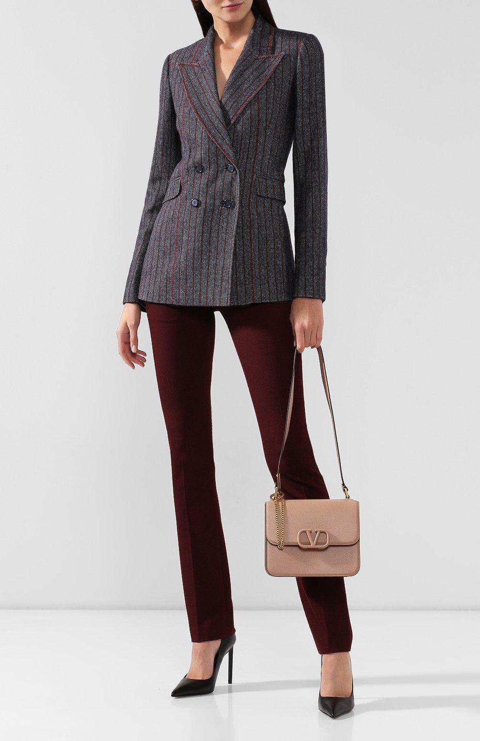 Женская сумка valentino garavani vsling medium VALENTINO бежевого цвета, арт. SW0B0F00/RQR | Фото 2