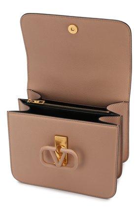 Женская сумка valentino garavani vsling medium VALENTINO бежевого цвета, арт. SW0B0F00/RQR | Фото 4