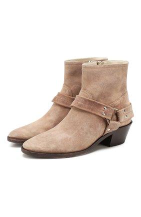 Замшевые ботинки Bretagne | Фото №1