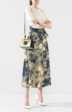Женская сумка phoebe mini DANSE LENTE светло-зеленого цвета, арт. MINI PH0EBE/MINT/0LIVE | Фото 2