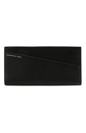 Женские футляр для документов и обложка для паспорта SMYTHSON черного цвета, арт. 1024185 | Фото 2