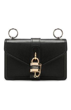 Женская сумка aby chain CHLOÉ черного цвета, арт. CHC19WS206B72   Фото 1