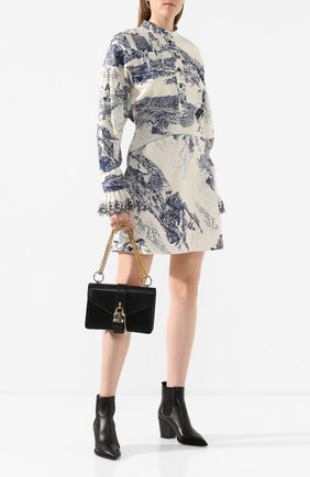 Женская сумка aby chain CHLOÉ черного цвета, арт. CHC19WS206B72   Фото 2