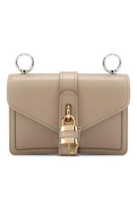 Женская сумка aby chain CHLOÉ серого цвета, арт. CHC19WS206B72   Фото 1