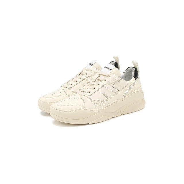 Кожаные кроссовки Ami — Кожаные кроссовки
