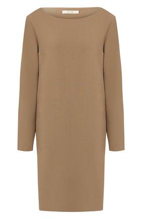 Женское платье THE ROW бежевого цвета, арт. 4610W991 | Фото 1
