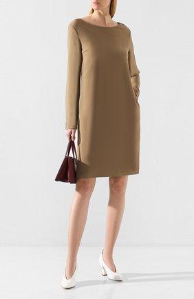 Женское платье THE ROW бежевого цвета, арт. 4610W991 | Фото 2