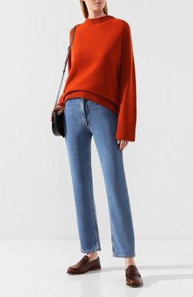 Женские джинсы THE ROW синего цвета, арт. 4616W1315 | Фото 2