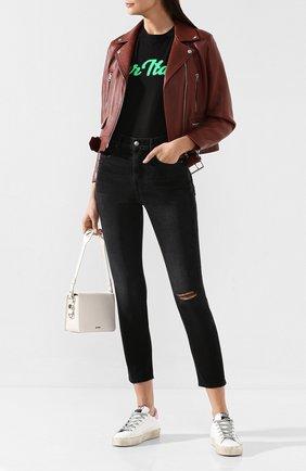 Женские джинсы FRAME DENIM черного цвета, арт. L0JSK252 | Фото 2