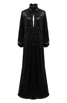 Женское платье с пайетками RACIL черного цвета, арт. RS9-D2-F-BARBARA | Фото 1