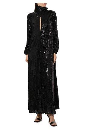 Женское платье с пайетками RACIL черного цвета, арт. RS9-D2-F-BARBARA | Фото 2