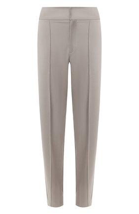 Женские брюки со стрелками TOTÊME светло-серого цвета, арт. 0SSI 194-224-737 | Фото 1