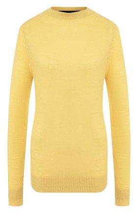 Женская пуловер из смеси шерсти и кашемира MARC JACOBS RUNWAY желтого цвета, арт. K2190092   Фото 1