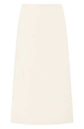 Женская шерстяная юбка MARC JACOBS RUNWAY белого цвета, арт. W2190244 | Фото 1