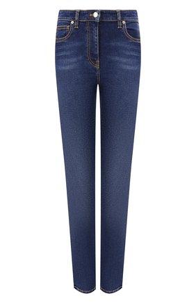 Женские джинсы KENZO темно-синего цвета, арт. F962PA2706EG   Фото 1