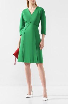 Женское платье DOROTHEE SCHUMACHER зеленого цвета, арт. 548013/EM0TI0NAL ESSENCE | Фото 2