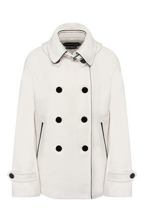 Женское шерстяное пальто TOM FORD белого цвета, арт. CS1043-FAX546 | Фото 1