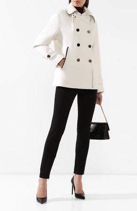 Женское шерстяное пальто TOM FORD белого цвета, арт. CS1043-FAX546 | Фото 2