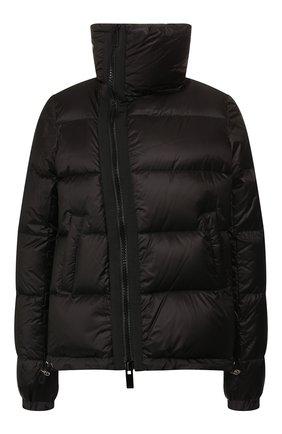 Женский пуховая куртка SACAI черного цвета, арт. SCW-037 | Фото 1