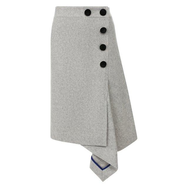 Шерстяная юбка Sacai
