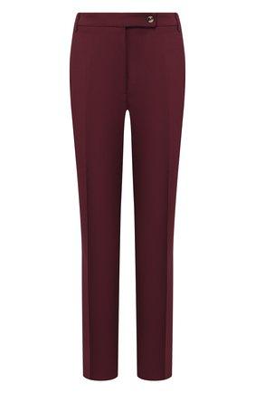 Женские брюки со стрелками GOLDEN GOOSE DELUXE BRAND бордового цвета, арт. G35WP021.A5 | Фото 1