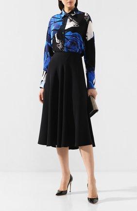 Женская юбка ST. JOHN черного цвета, арт. K71XW11 | Фото 2