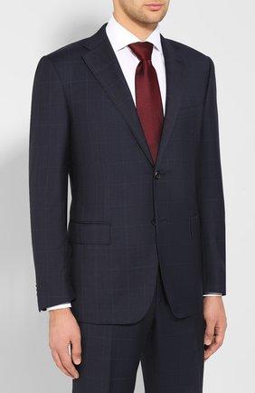 Мужской шерстяной костюм CORNELIANI темно-синего цвета, арт. 847315-9817013/00 | Фото 2