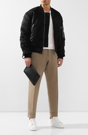 Мужская кожаный клатч 2 moncler 1952 x valextra MONCLER GENIUS черного цвета, арт. E2-096-00629-00-02S69 | Фото 2