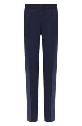 Мужской шерстяные брюки ZILLI темно-синего цвета, арт. M0S-40-A-B6402/0001 | Фото 1