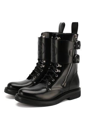 Кожаные ботинки Nick Ranger | Фото №1