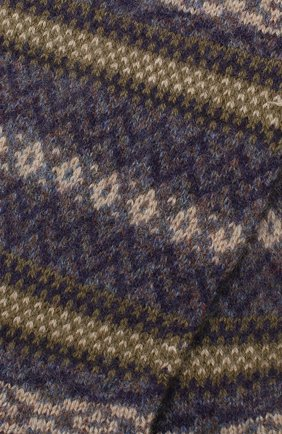 Мужские кашемировые носки PANTHERELLA серого цвета, арт. 57000 | Фото 2