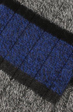 Мужские кашемировые носки PANTHERELLA синего цвета, арт. 57001 | Фото 2
