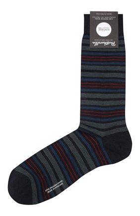 Мужские шерстяные носки PANTHERELLA темно-синего цвета, арт. 595535 | Фото 1