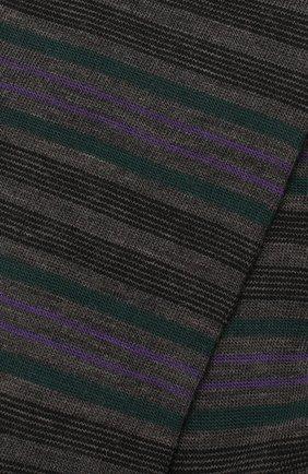 Мужские шерстяные носки PANTHERELLA черного цвета, арт. 595535 | Фото 2