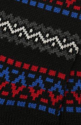 Мужские шерстяные носки PANTHERELLA черного цвета, арт. 89887 | Фото 2