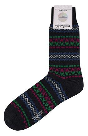 Мужские шерстяные носки PANTHERELLA темно-синего цвета, арт. 89887 | Фото 1