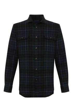 Мужская кашемировая рубашка RALPH LAUREN разноцветного цвета, арт. 790765487 | Фото 1