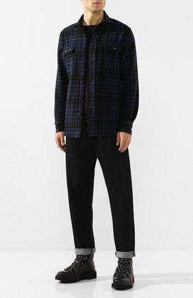 Мужская кашемировая рубашка RALPH LAUREN разноцветного цвета, арт. 790765487 | Фото 2