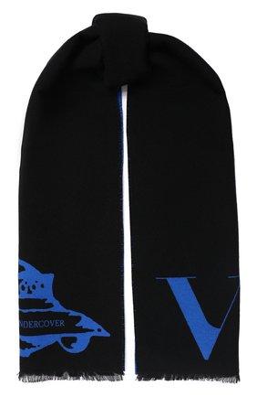 Шарф из смеси шерсти и шелка Valentino x Undercover   Фото №1