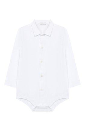 Хлопковое боди-рубашка | Фото №1