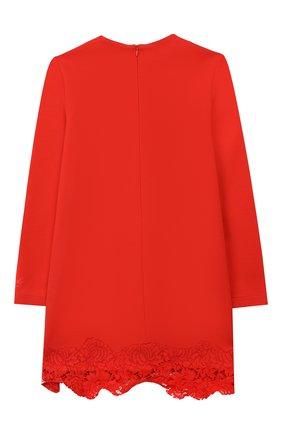 Платье с кружевной отделкой | Фото №2