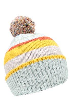 Детского шапка из хлопка и шерсти STELLA MCCARTNEY разноцветного цвета, арт. 566251/SNM09 | Фото 1