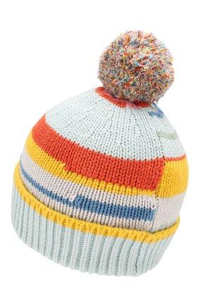 Детского шапка из хлопка и шерсти STELLA MCCARTNEY разноцветного цвета, арт. 566251/SNM09 | Фото 2
