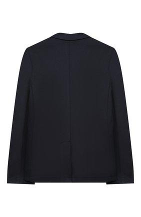 Детский двубортный пиджак PAOLO PECORA MILANO синего цвета, арт. PP2019/14Y-16Y | Фото 2