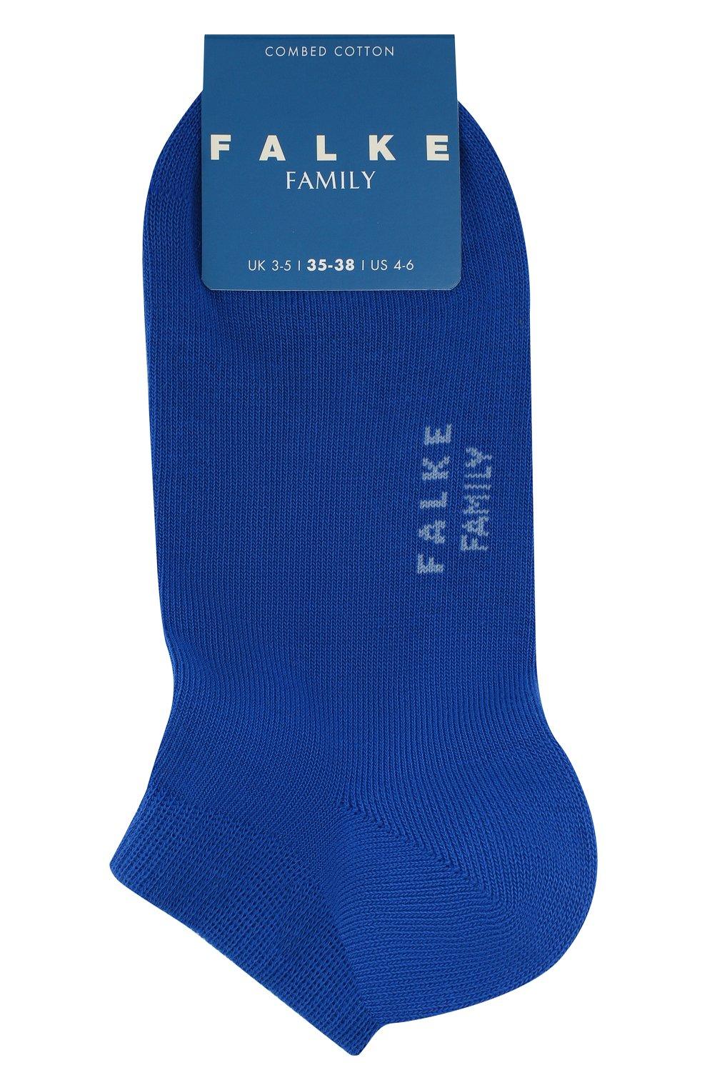 Детские хлопковые носки FALKE синего цвета, арт. 10631 | Фото 1